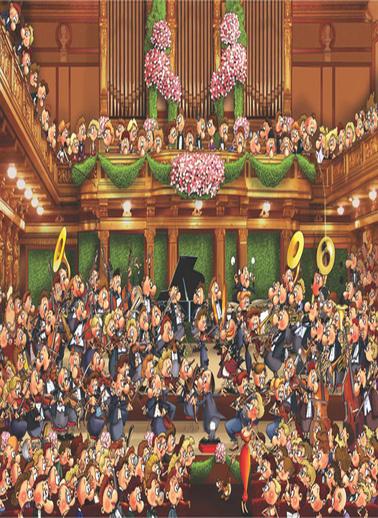 Anatolian  1500 Parça Konser 4551 Renkli
